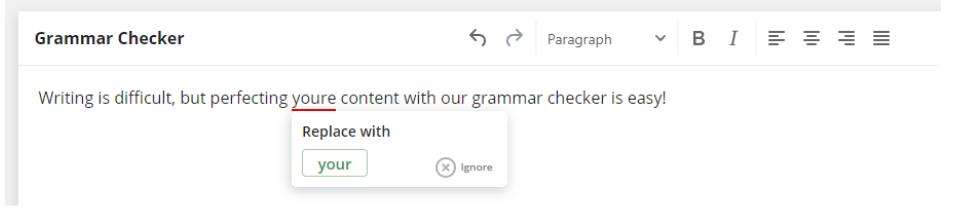 Grammar Check on QuillBot