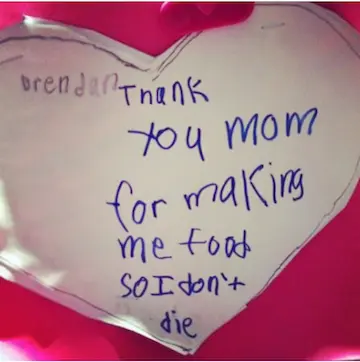 Mother's Day Letter from Daughter