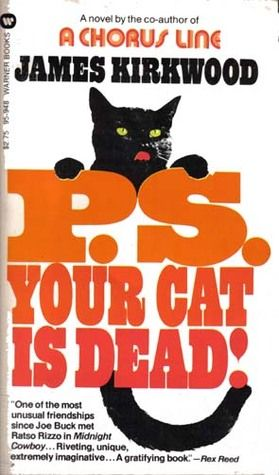 """An image of the cover of the book """"PS Your Cat is Dead!"""""""