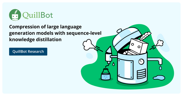Compressing large language generation models with sequence-level knowledge distillation